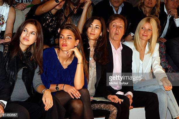Dasha Zhukova Charlotte Casiraghi Nancy Shevell Sir Paul McCartney And Gwyneth Paltrow Attend The Stella
