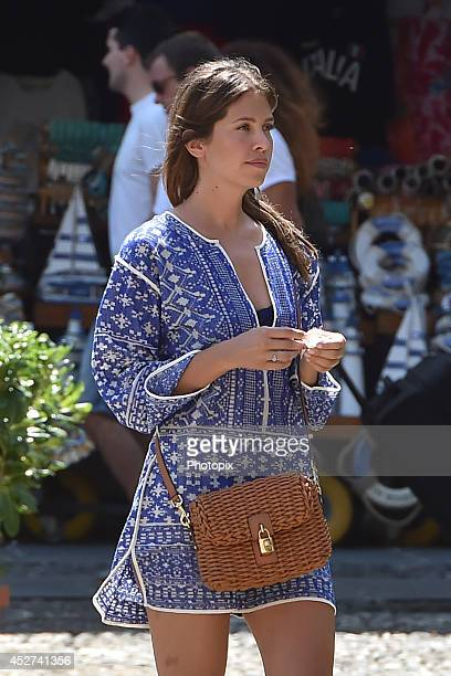 Dasha Zhukova is seen on July 26 2014 in Portofino Italy