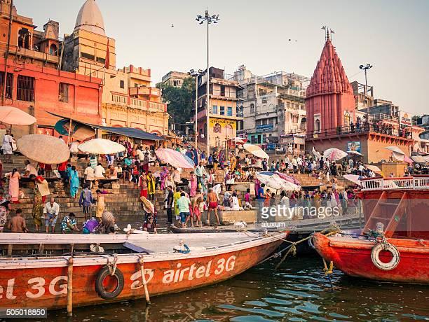 Dashashwamedh Ghat in Varanasi India