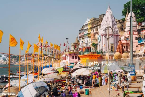 Dashashwamedh main Ghat in Varanasi.