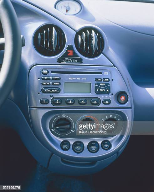 Dashboard of a car