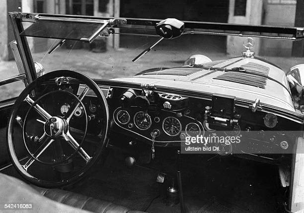 Dashboard of a Mercedes convertible 1933 Photographer Seidenstuecker Vintage property of ullstein bild