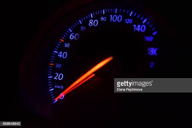 Dashboard - speed level zero