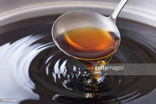 dashitsuyu - ladle stock photos and pictures