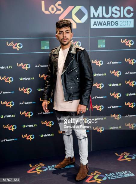 Dasoul attends 40 Principales Awards candidates dinner 2017 on September 14 2017 in Madrid Spain