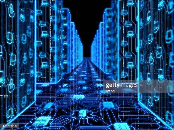 データ銀行:クラウドコンピューティング