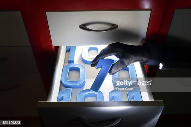 Data being stolen from drawer