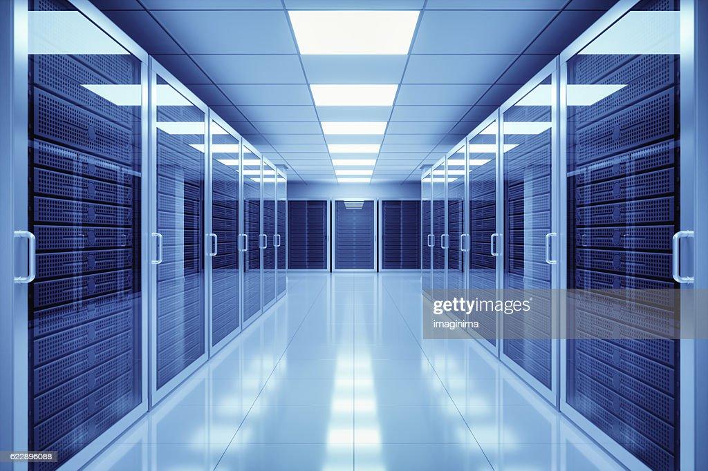 Daten-Center Innenbereich : Stock-Foto