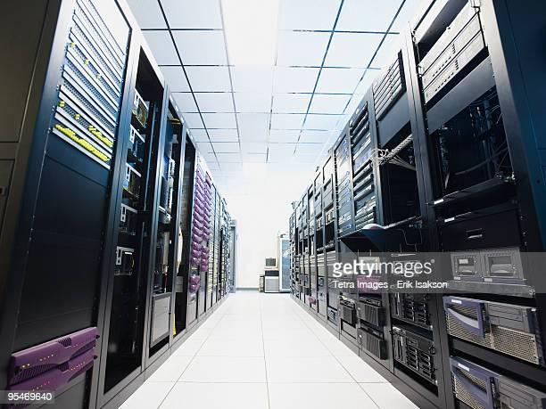 data center - computeronderdeel stockfoto's en -beelden