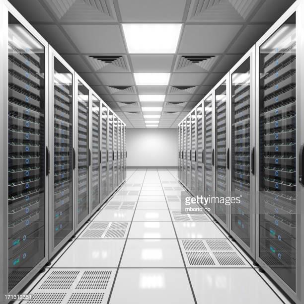 データセンター-白色