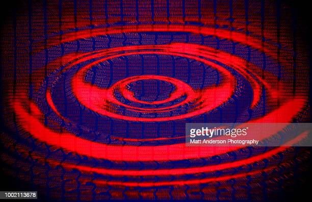101010 data lines ripple in red blue - electoral college stock pictures, royalty-free photos & images