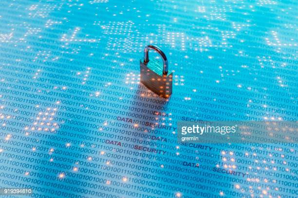 data security concept image - privacy stock pictures, royalty-free photos & images