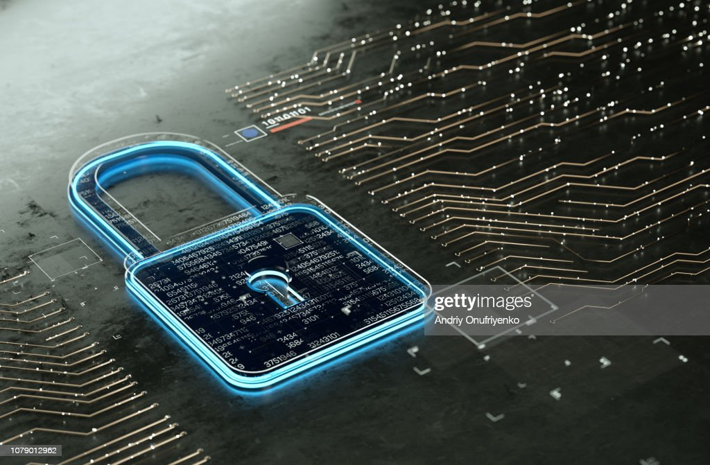 Data Security : Stock Photo