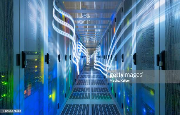 data storage in data warehouse - data center stock pictures, royalty-free photos & images
