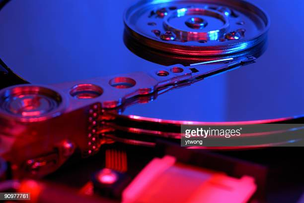 data storage - gel effect lighting stock photos and pictures
