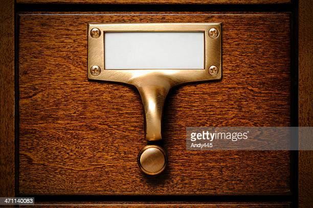 Database drawer