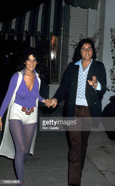 Date and Desi Arnaz Jr during Bridal Shower Luncheon for Lucie Arnaz at South Beverly Restaurant in Beverly Hills California United States