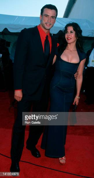 Date and Maria Conchita Alonso at the 6th Annual Lady of Soul Awards, Santa Monica Civic Auditorium, Santa Monica.