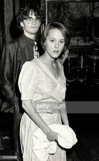 date and Mary Stuart Masterson at the The Performing Arts for Nuclear Disarmament Fundraiser National Arts Club New York City