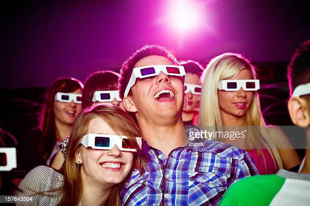 Date in 3D movie theater