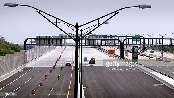 May 31, 2008 Assignment no: 201825 slug: me-wilson VA side of Woodrow Wilson Bridge new span to open Photographer: Gerald Martineau We photograph the...
