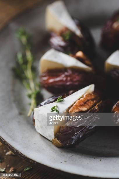 Date stuffed with cheese