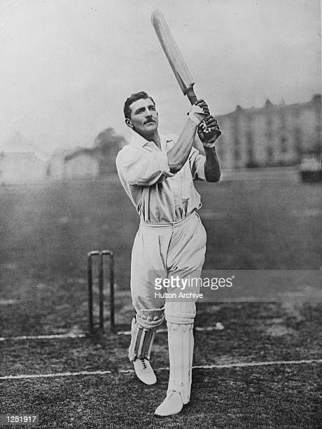 Fry of England and Surrey one of only three men to score six first class centuries in successive innings Mandatory Credit: Allsport Hulton/Archive