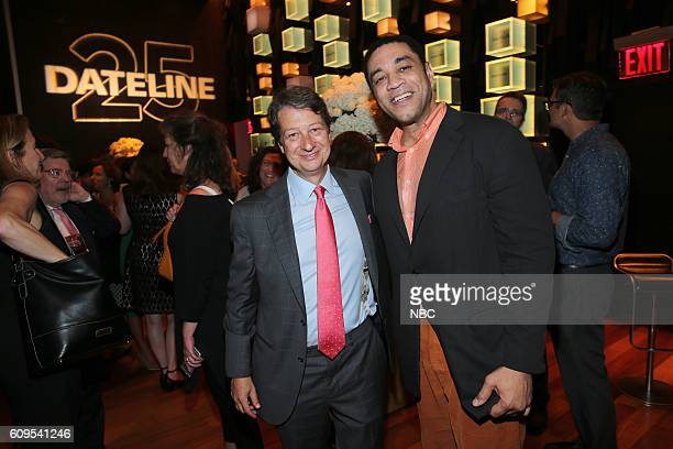"""Dateline 25th Anniversary Event -- Pictured: President and Chief Executive Officer of WNET Neal Shapiro, """"The Blacklist"""" actor Harry Lennix --"""