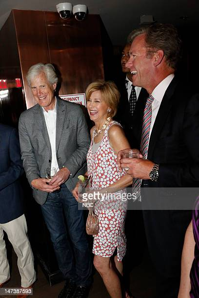 NBC NEWS EVENTS Dateline NBC 20th Anniversary Party Pictured Keith Morrison Jane Pauley Chris Hansen
