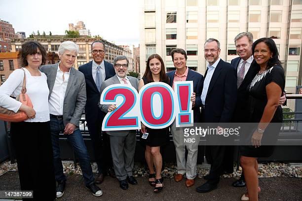 NBC NEWS EVENTS Dateline NBC 20th Anniversary Party Pictured Susan Nalle Keith Morrison Lester Holt David Corvo Liz Cole Neil Shapiro Steve Capus...