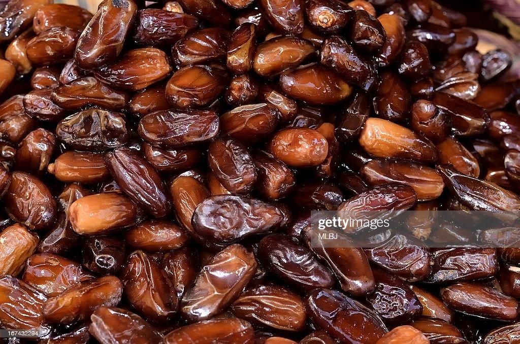 Fechas sweet frutas : Foto de stock