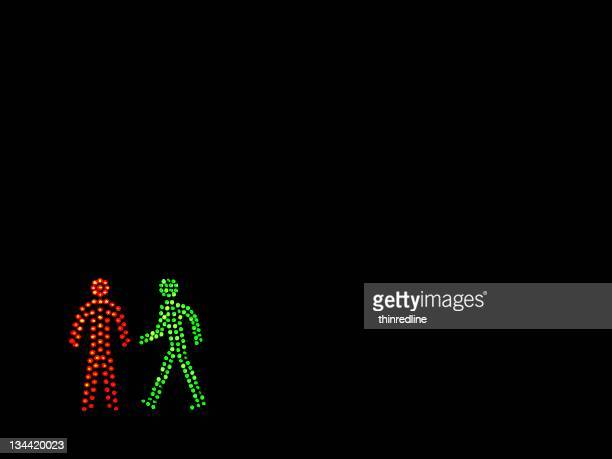 dating in dark - road signal stock pictures, royalty-free photos & images