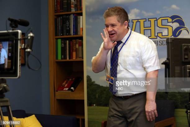 AP BIO 'Dating Toledoans' Episode 103 Pictured Patton Oswalt as Principal Durbin
