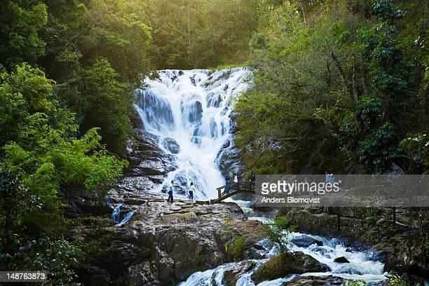 Datlana Falls near Dalat.