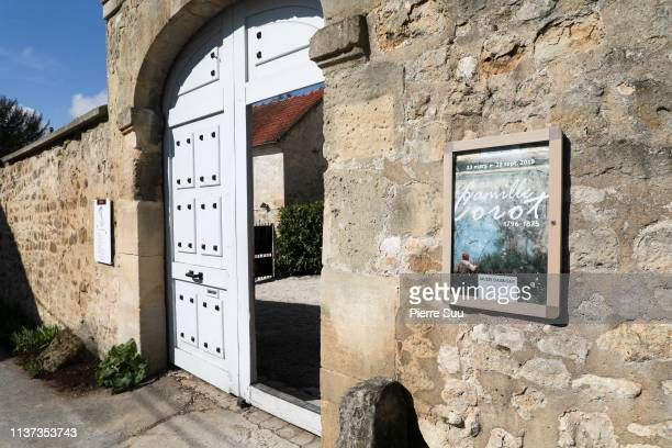 Daubigny museum on March 21 2019 in AuverssurOise France