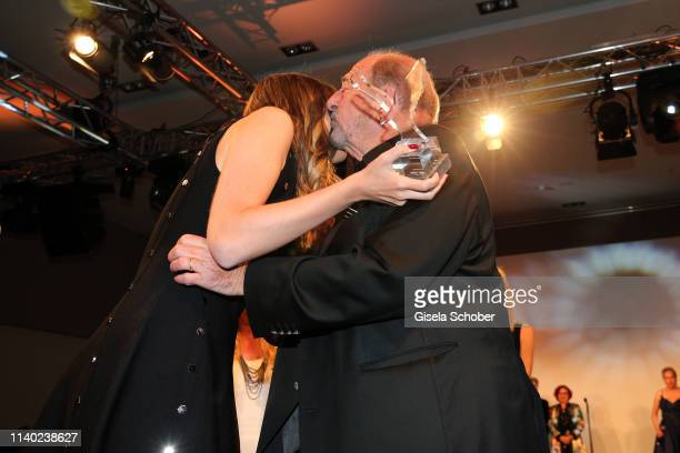 Daughter Alana Siegel Ralph Siegel during the 7th Fashion Charity Dinner and the Best of Awards at Hotel Leonardo Royal on April 29 2019 in Munich...
