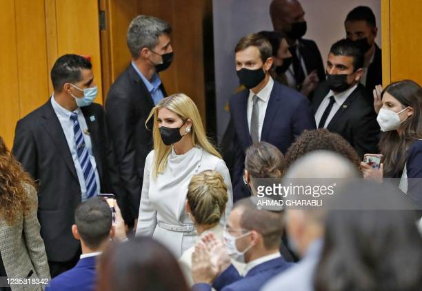 Daughter and Senior Advisor to the former US President Ivanka Trump and US businessman and former Trump-administration presidential advisor Jared...