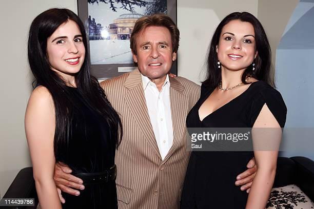 Daughter Annabel Jones Davy Jones and daughter Jessica Jones at Royal Albert Hall on May 19 2011 in London United Kingdom
