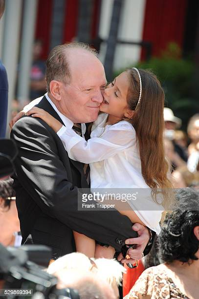 Daughter Emme Anthony and mother Guadalupe Lopez attend the ceremony that honored Jennifer Lopez with a Star on The Hollywood Walk of Fame