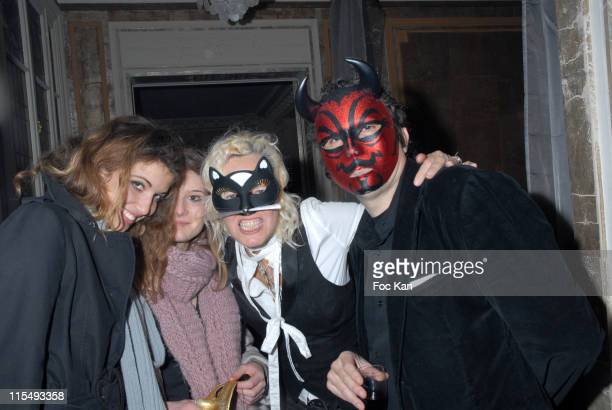 Daughter of Ellen Von Unwerth A Guest Ellen Von Unwerth and Her Husband Christian Beaugeste attend the Ellen Von Unwerth and Bridget Yorke Masked...