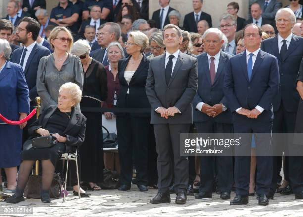 Daughter of former French president Claude Chirac her mother Bernadette Chirac former French President Nicolas Sarkozy former French Prime Minister...