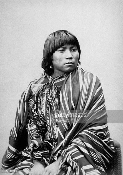 Daughter of Gap in the Salt Comanche 1872