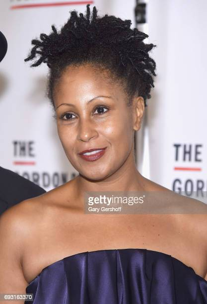 Daughter of Gordon Parks Leslie Parks attends the 2017 Gordon Parks Foundation Awards gala at Cipriani 42nd Street on June 6 2017 in New York City