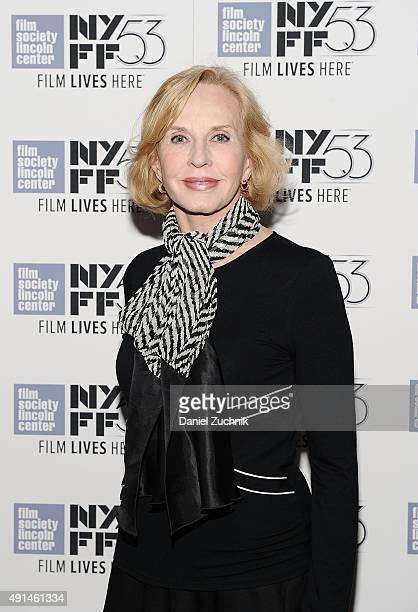 """Daughter of Ingrid Bergman, Pia Lindstrom attends the 53rd New York Film Festival premiere of """"Ingrid Bergman In Her Own Words"""" at The Film Society..."""