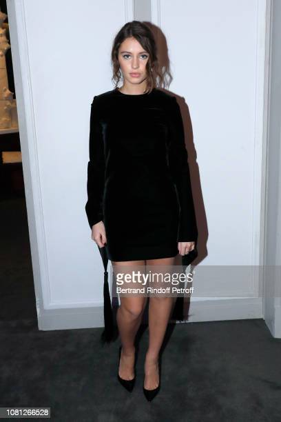 Daughter of Jude Law, Model Iris Law attends the Annual Charity Dinner hosted by the AEM Association Children of the World for Rwanda at Pavillon...