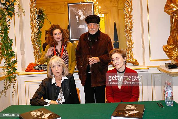 Daughter of Loulou de la Falaise Anna Klossowski de Rola Husband of Loulou de la Falaise Thadee Klossowski de Rola Autors of the book Ariel de...