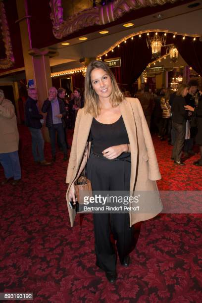 Daughter of Michel Leeb Fanny Leeb attends Michel Leeb 40 ans Theater Show at Casino de Paris on December 14 2017 in Paris France