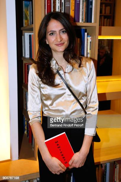 Daughter of Nathalie Rykiel Salome Burstein attends the Manifesto Sonia Rykiel 5Oth Birthday Party at the Flagship Store Boulevard Saint Germain des...
