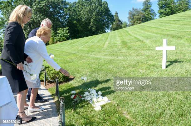 Daughter of Robert F. Kennedy Rory Kennedy, Ethel Kennedy, human rights campaigner and widow of Robert F. Kennedy, and Christopher Kennedy, son of...