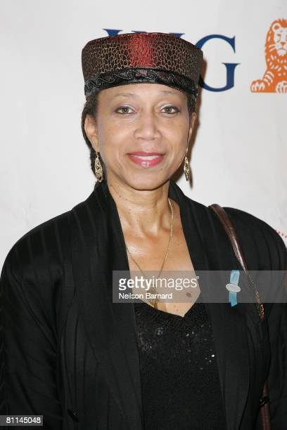 Daughter of social activist Malcolm X Ambassador Shabazz attends the Victoria Rowell Steps Out For High Tea At Noon event at the Beverly Hills Hotel...
